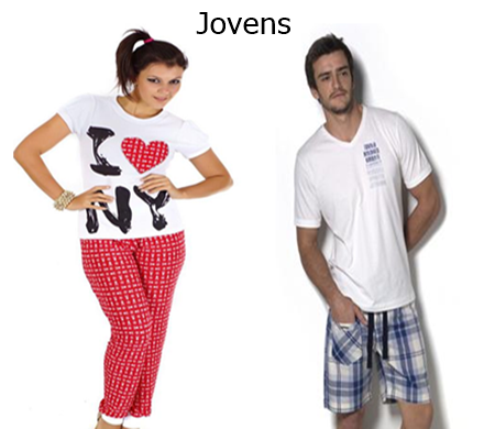 Pijamas jovens