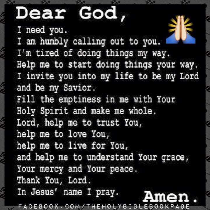 Dear God I Need You I Am Humbly Calling Out To You I Am