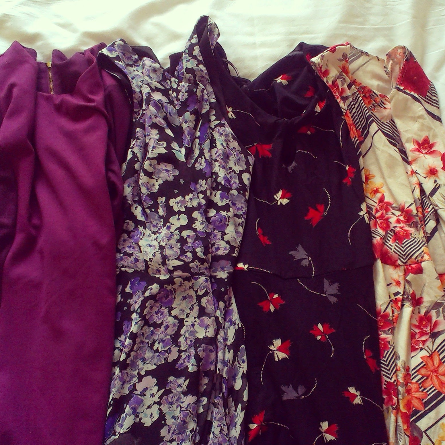 Charity shop dresses