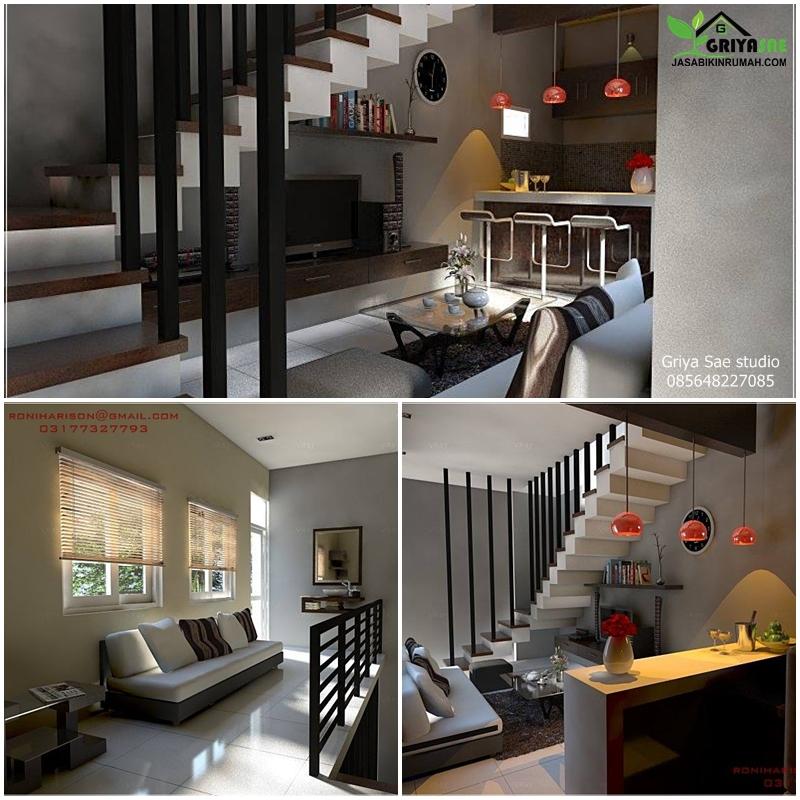 Desain Interior Lebar 3 Meter Jasa Bikin Rumah
