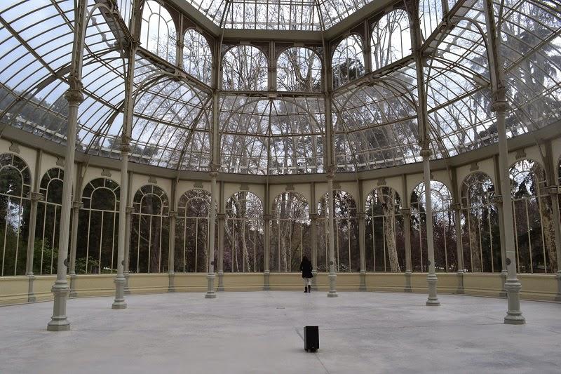 Madrid, Espagne, parc, retiro, palais de cristal