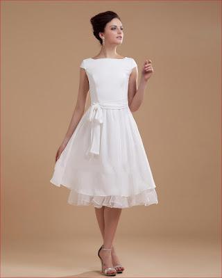 Vestidos de novia para matrimonio civil