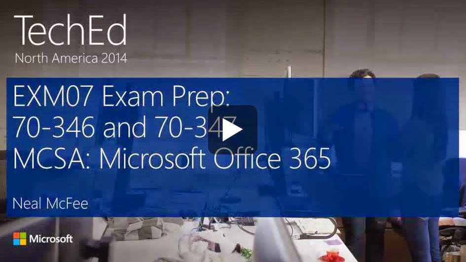 Exchange Anywhere Getting Ready To Become An Mcsa Office 365
