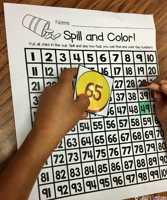 https://www.teacherspayteachers.com/Product/100s-Chart-Shake-Spill-3050285