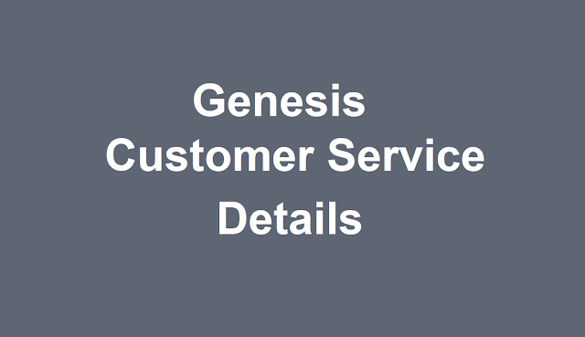 Genesis Customer Service Number