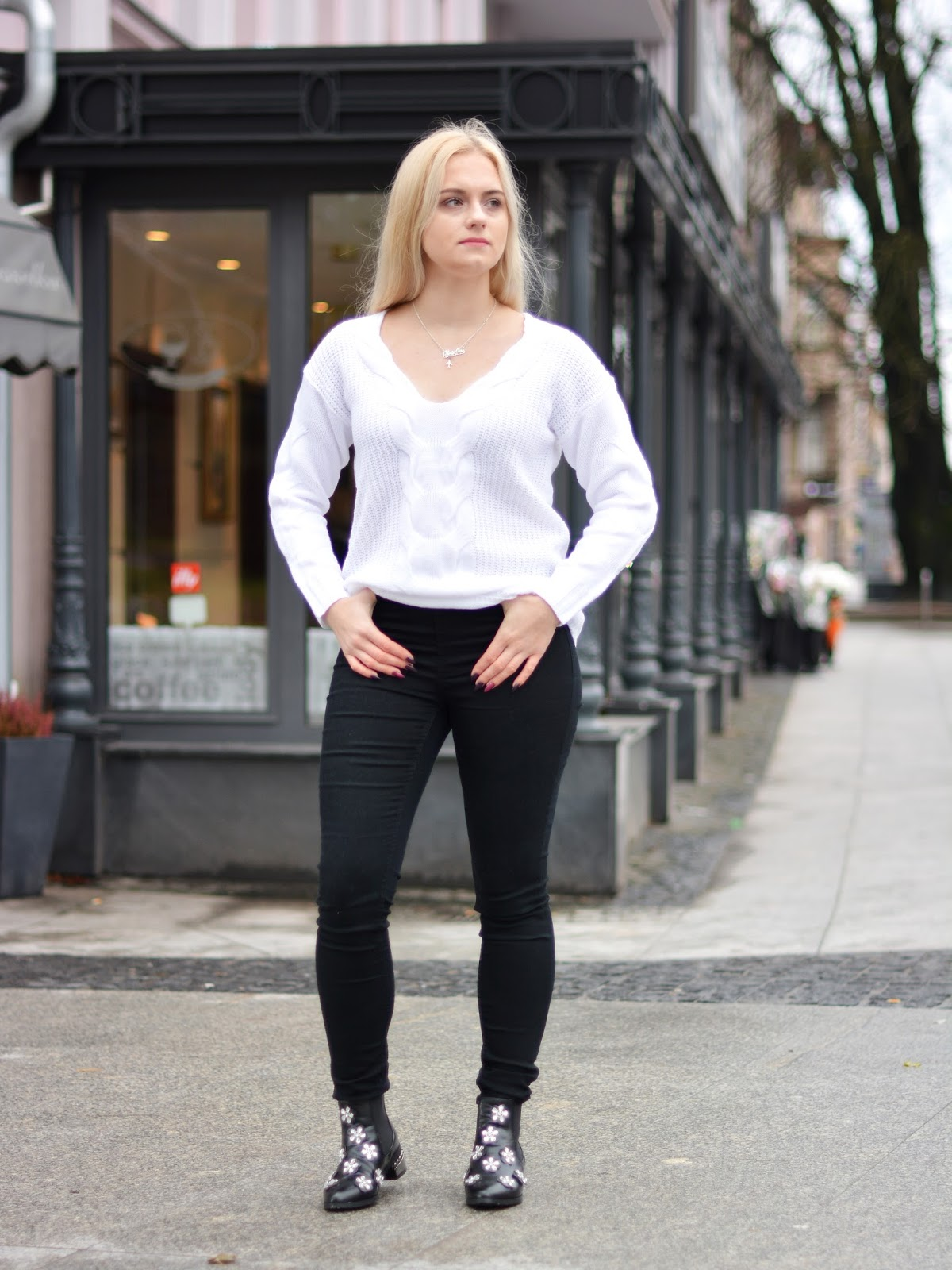 stylizacja sweter 2017