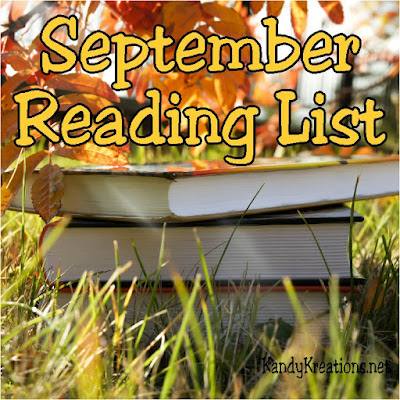 "Are you looking for a good book to read with your kids or to have some ""Mom Time""?  Here are the books that we read during the month of September.  There were some great ones and some so-so books to enjoy."