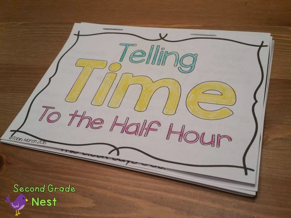 Telling Time Activities- Clock Activities for students- telling time to the hour, quarter hour, half hour, and five minutes- time centers, time interactive notebook, time worksheets