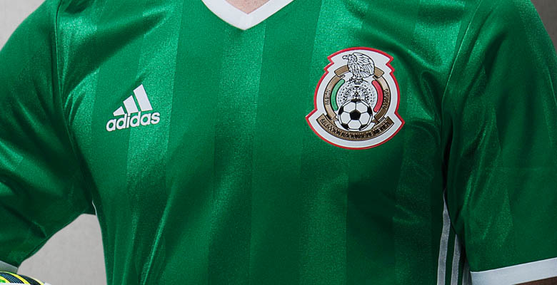 834f5c1fa Mexico 2016 Copa America Home Kit Released - Footy Headlines