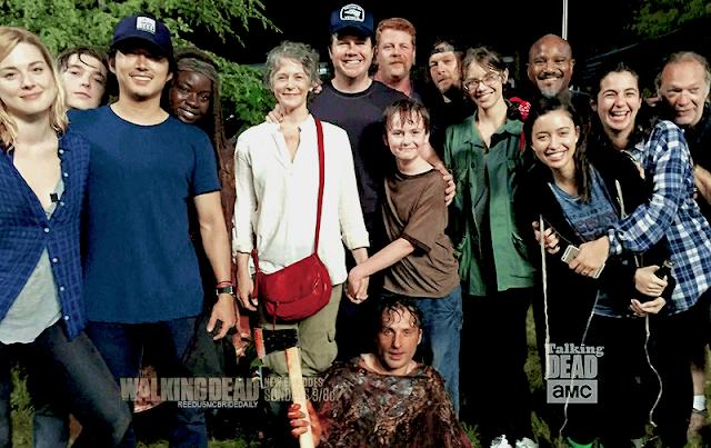 """Detrás de las escenas, 6x09 """"No Way Out"""" de 'The Walking Dead'"""