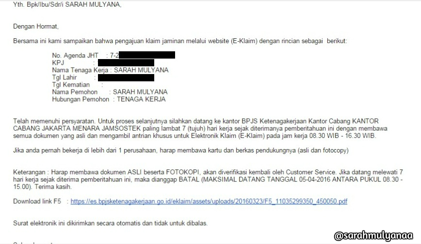 Pencairan Jamsostek Bpjs Ketenagakerjaan Sekarang Gak Pake Ribet