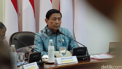 Wiranto: Definisi Terorisme di RUU Sudah Diluruskan ke TNI-Polri - Info Presiden Jokowi Dan Pemerintah