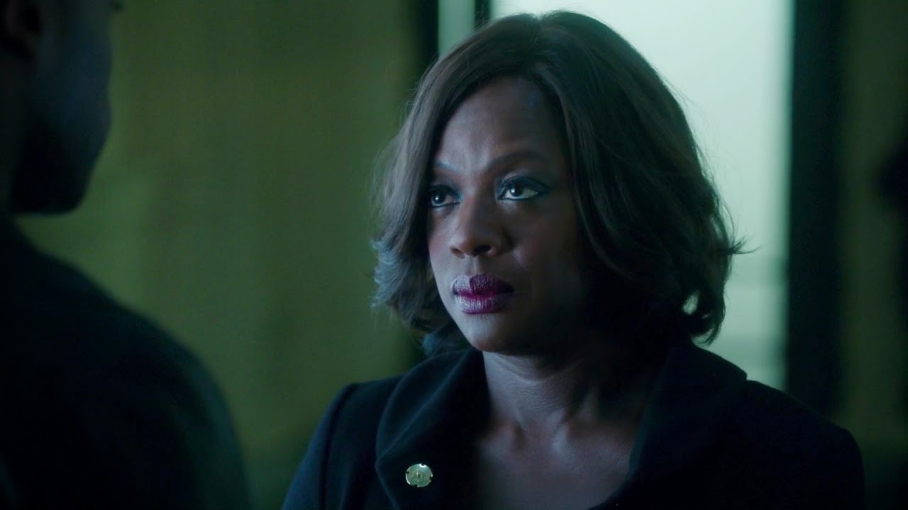 Fotograma del personaje de Annalise Keating en 'How to get away with murder'