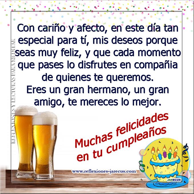 Feliz Cumpleaños Con cariño y afecto, en este día tan especial para ti mis deseos porque seas muy feliz, y que cada momento que pases lo disfrutes en compañía de quienes te queremos.