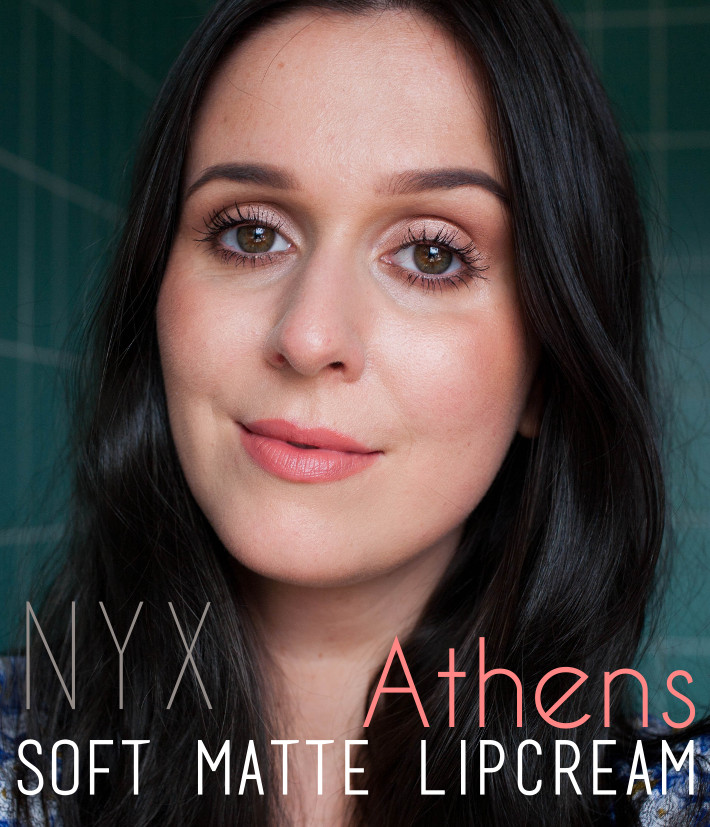 NYX Soft Matte Lipcream review in Athens