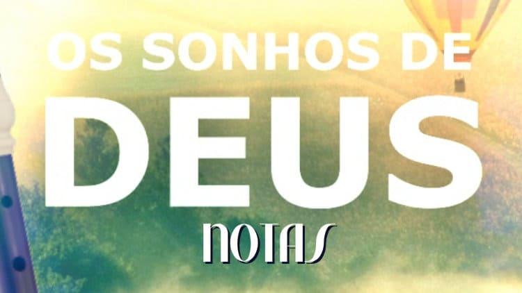 Os sonhos de Deus - Nani Azevedo - Cifra melódica