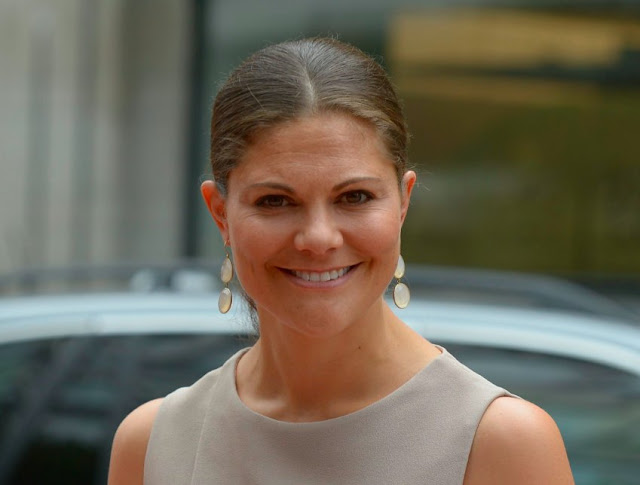 Crown Princess Victoria at Export Hermes Awards