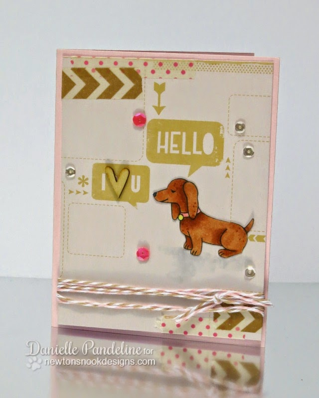 Delightful Doxies | featuring Newton's Nook Designs | created by Danielle Pandeline