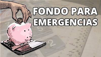 Importancia fondo para emergencias