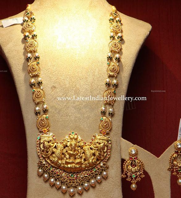 Paisley Design Heavy Lakshmi Haram