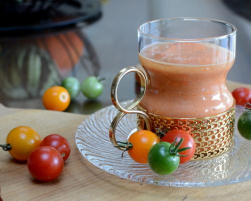 Tomato Bisque ♥ AVeggieVenture.com, start with Marcella Hazan's Famous Tomato-Onion Sauce.