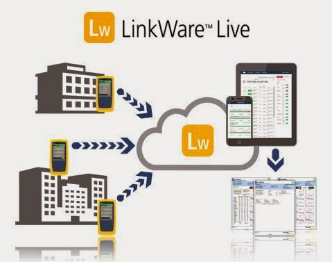 Fluke Networks Announced LinkWare Live, World's First Cloud-Connected Cable Certification Tool
