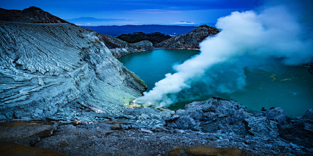"""Ijen Crater Banyuwangi Regency"" Java Island, the Indonesia's called name is ""Kawah Ijen""  is volcanoes mountain east java, which always active every day and result of ""Sulphur"", the Kawah Ijen is one of mountain  result of ""Blue Fire or Blue Flame"" the Indonesia called name is ""Api Biru"" which is the Blue Fire or Blue Flame come out only in the night day 00.00pm  until 5.15am in the morning day,  beside is Ijen come out  Blue Fire or Blue Flame, at the time is morning day for any tourist can be enjoy beauty of  the ""Lake"" and miners ijen work every day on crater Up and Down, not only that at the time morning day for the tourist also can be enjoy some of mountains near ""Ijen Crater"" like : Mount Ranty, Mount , Mount Merapi, Mount Suket, Mount Raung. We offer best price for  tour package holiday in Indonesia tourism  ""Ijen Crater Tour or Kawah Ijen Tour"" and trip to the ""Ijen Volcanoes Crater""  like the : ""Ijen Morning Tour"", ""Blue Fire Tour"", ""Blue Flame Tour"","" Ijen Crater Tour From Surabaya"", ""Ijen Crater Tour From Bali"", ""Ijen Crater Tour From Banyuwangi"", ""Ijen Tour"",""Ijen Travel"", services also tour package like ""Bromo Ijen Tour"", ""Ijen Bromo Tour"", ""Bromo Tour""  Holiday in java island with ""Ijen Tamansari Tour""."