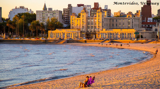 Montevideo, A Beautiful City Of Uruguay
