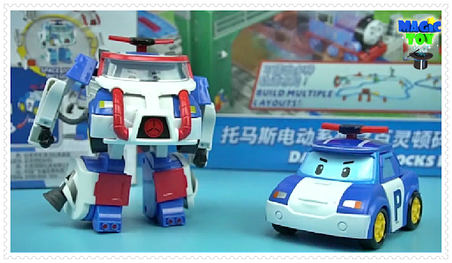 Robocar Poli toy