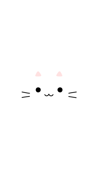 FACE (white cat)