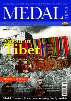 Article Review - Medal News - Two Gurkha Officers: Part II - May 2014
