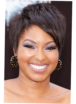 Hairstyles For Round Face Black Skin Woman Latest Picture