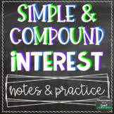 SIMPLE AND COMPOUND INTEREST NOTE WITH SOLVED EXAMPLE