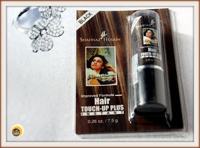 Shahnaz Husain Hair Touch-up Plus Instant (BLACK) Review