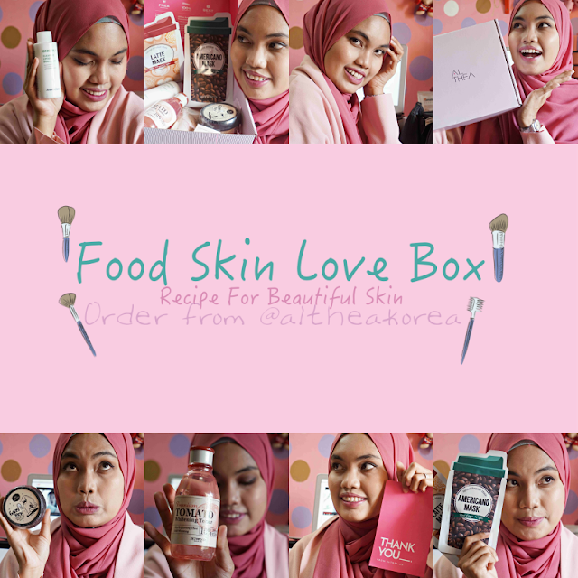 REVIEW: ALTHEA FOOD SKIN LOVE BOX
