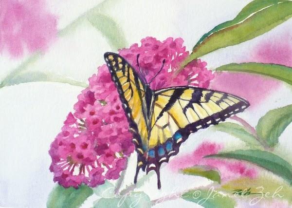 Zeh Original Art Blog Watercolor And Oil Paintings: Tiger