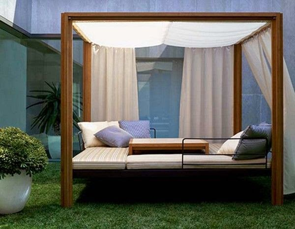99 Wow Relax On A Romantic Outdoor Canopy Bed Part