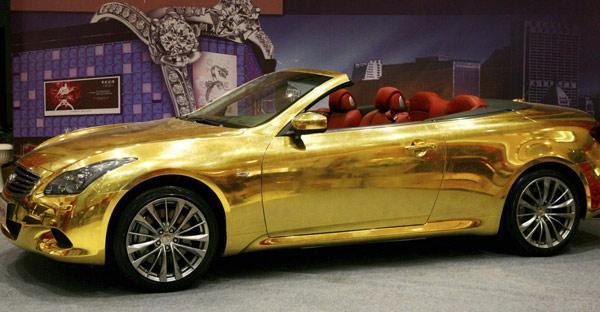 Golden Cars: Sports Car: China Golden Cars