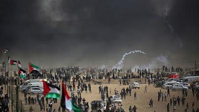 احتجاجت في غزة
