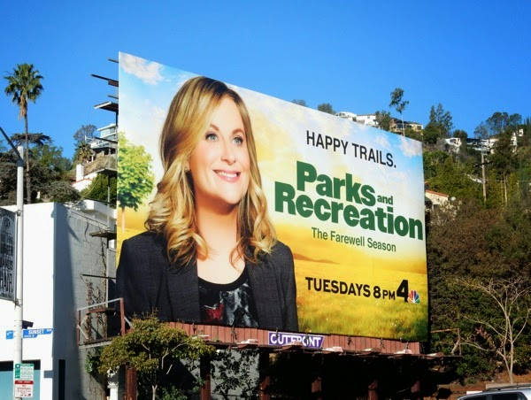 Parks and recreation final season 7 billboard