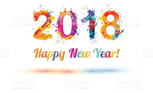 Happy New Year Banner Animated, New Year Banners of 2018 and Printables