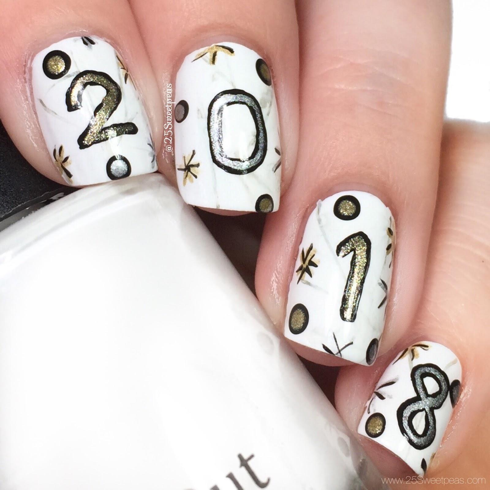 NYE Nail Art