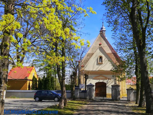 Zabytkowy kościół w Marzeninie woj. łódzkie - CZYTAJ DALEJ