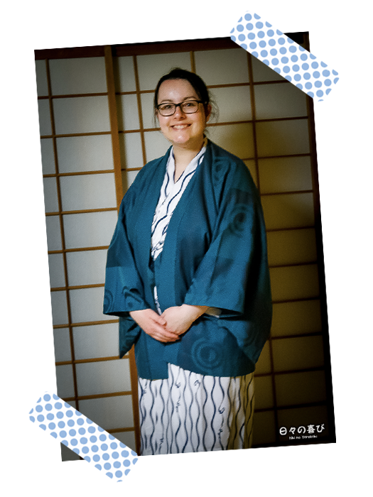 portrait céci en yukata