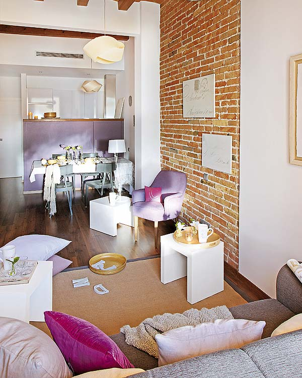 Blog achados de decora o pequeno apartamento para for Decoracion vintage apartamentos pequenos