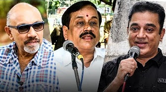 """""""Kamal or Sathyaraj are bothered only about money""""- H.Raja 