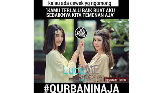 22 Meme Idul Adha Bertema Qurbanin Aja Ini Bikin Nyengir nyengir