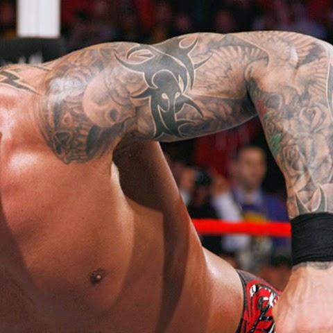 Randy orton tattoos | Randy orton