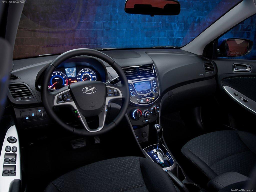 Hyundai-Accent Interior_2012_Cheapest Cars around the world