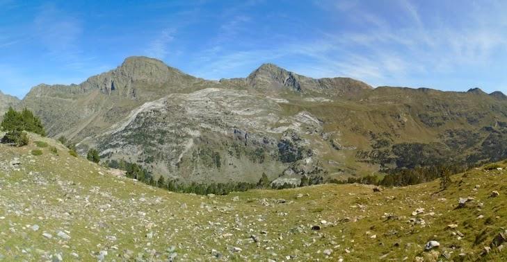 Pico Salvaguardia, Portillón de Benasque y Pico de la Mina